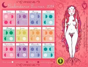 Calendario lunar 2014