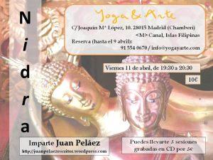 Yoga y arte el  11 de abril