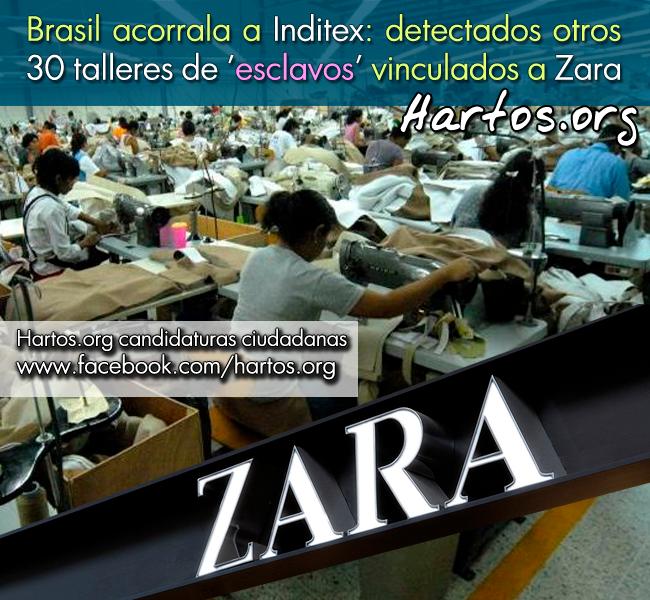 Resultado de imagen de Detectados otros 30 talleres de esclavos vinculados a Zara